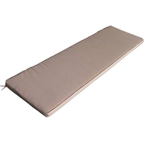 Cuscino imbottito sfoderabile impermeabile tortora da esterno Real 110 CU805705