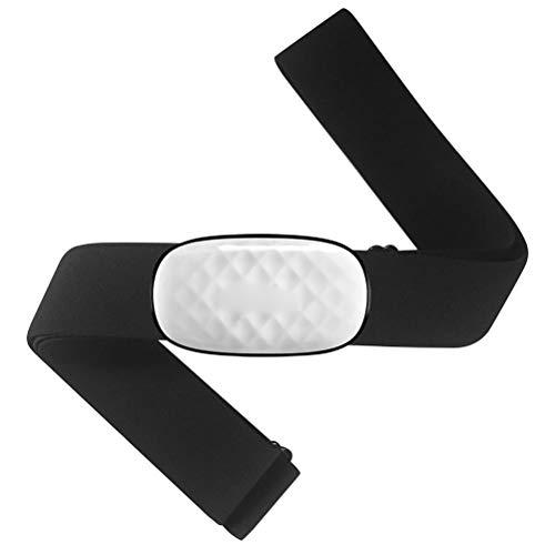 YsaAsaa Pulsmesser Brustgurt Sensor mit Bluetooth 4.0 IP67 Wasserdicht Voll kompatibel mit mobilen Apps, kabellosen Fahrradcomputern und Sportuhren