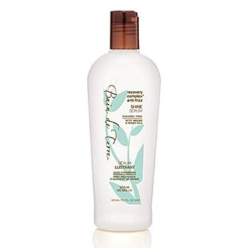 Bain de Terre Recovery Complex Anti-Frizz Silky Shine Serum with Argan and Monoi Oils Paraben-Free 10.1-Ounce