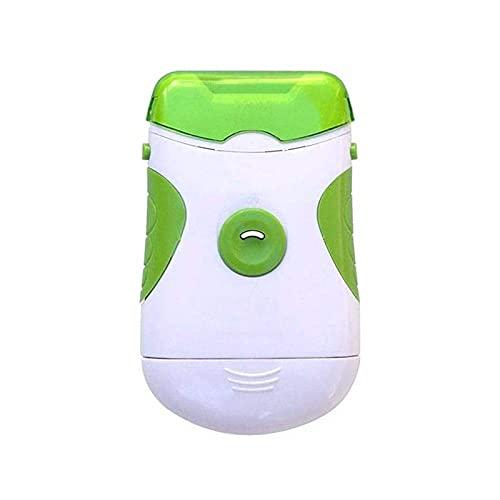 BEMKWG Coupe-Ongles Électrique Portable 2 en 1, Lime À Ongles Avec Lampe LED, Lime Automatique Coupe Ongles De Sécurité, Ensemble D'outils De Manucure pour Bébés Et Adultes