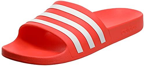 adidas Adilette Aqua, Sandalias unisex para niños, Solar Red Ftwr White Solar Red, 6 UK