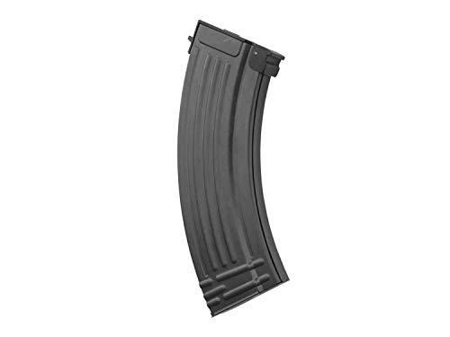 L&E E&L Airsoft/Softair AK 47 Midcap Magazin, Metall (120 BBS) für Fast alle AK (S) AEG Modelle