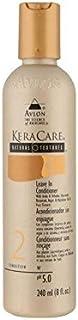 自然な質感がコンディショナー(240ミリリットル)に残します x4 - Keracare Natural Textures Leave In Conditioner (240ml) (Pack of 4) [並行輸入品]