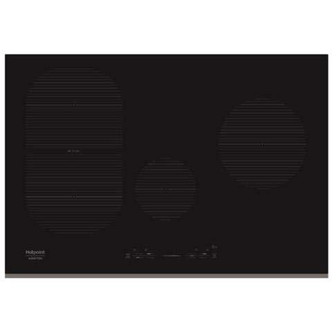 Hotpoint - Piano Cottura IKIS 841 F F a Induzione 4 Zone Cottura da 80 cm Colore Nero