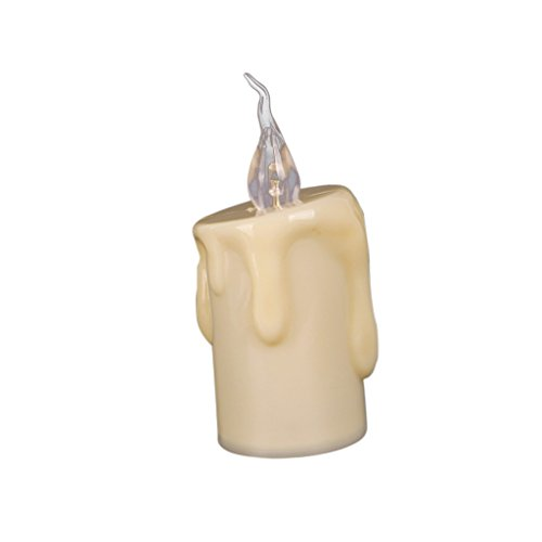 Serenable Flameless LED Decorative Battery Candle for Candlelight