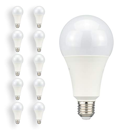 POPP® Bombillas E27 LED Edison A75 18W Equivalente a 120W Incandescente 1620Lm...