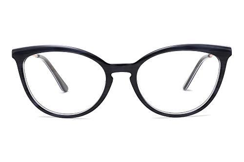 MEDOLONG JS4131 Marco de impresora 3D para mujer anti rayos azules de visión corta, C1 Gris,...