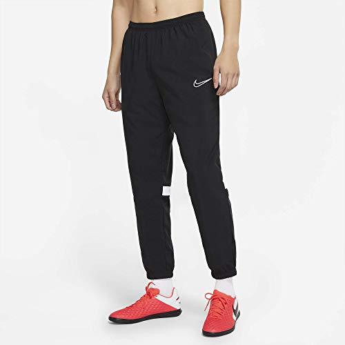 Nike Dri-FIT Academy Pantalon de survêtement Homme, Noir/Blanc/Blanc/Blanc, L