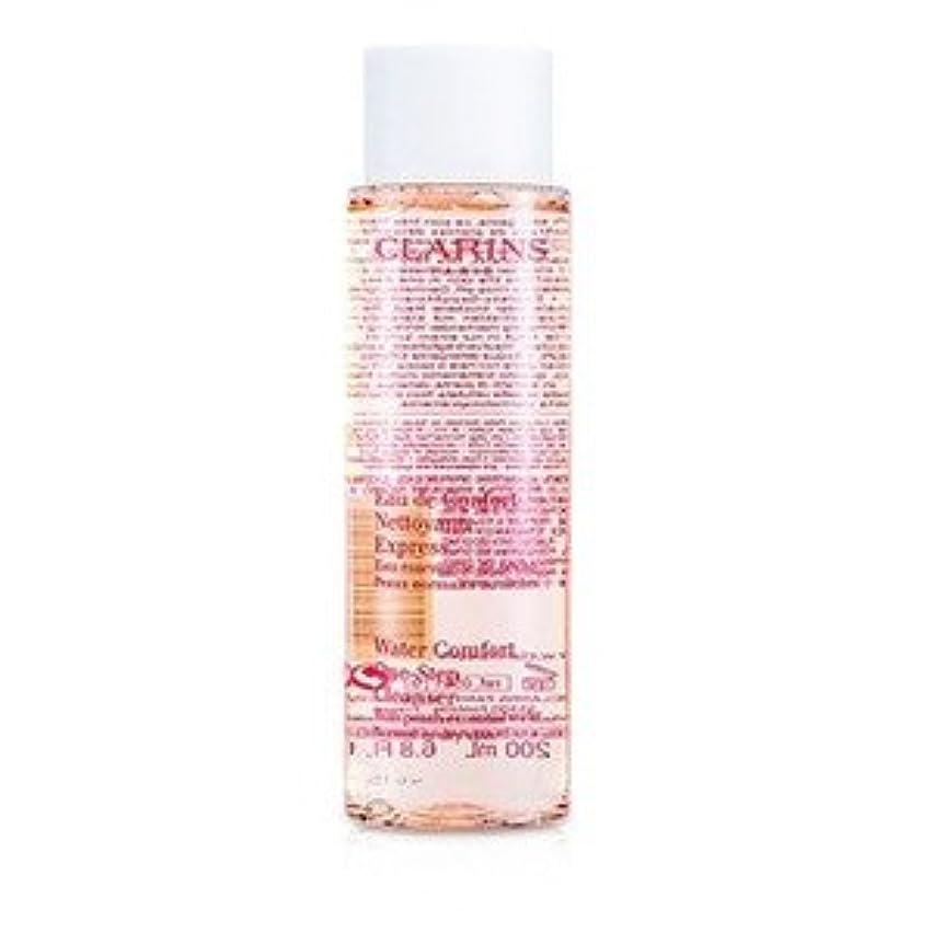 側溝午後再撮りCLARINS(クラランス) ウォーター コンフォート ワンステップ クレンザー w/ Peach Essential Water(For Normal or Dry Skin) 200ml/6.8oz [並行輸入品]