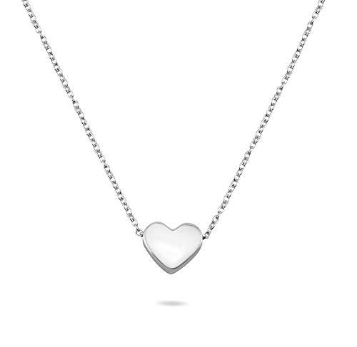 Nuoli -  ® Herzkette Silber