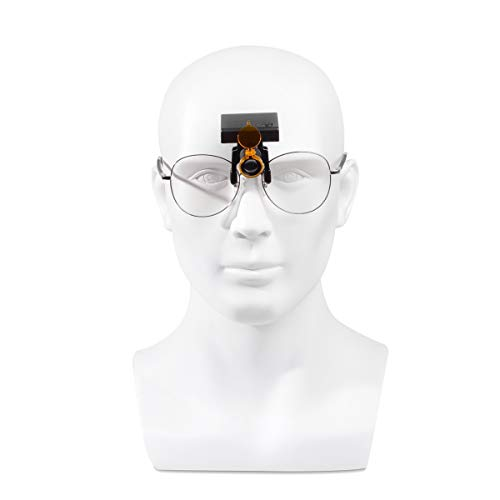 3W Dental LED Wireless Headlight with Optical Filter for Medical Binocular Loupes DY-010 Glasses