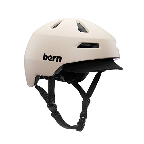 Bern Brentwood 2.0 Casco de Ciclismo, Unisex, Arena Mate, S