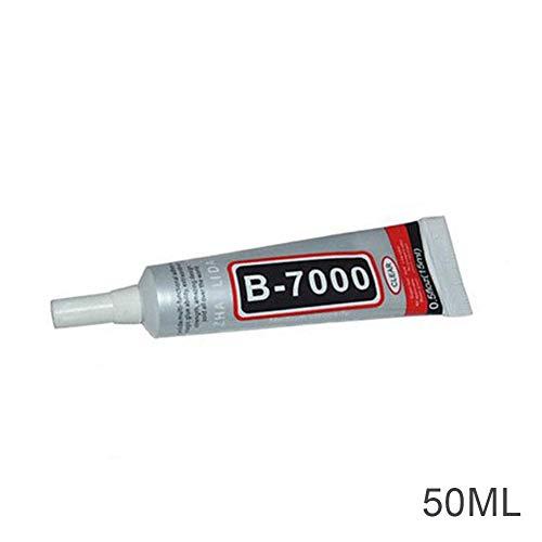 eamqrkt B-7000 Industriekleber für Handyrahmen, Stoßfänger, Schmuck, 50 ml