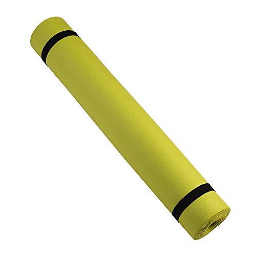 Etophigh Yoga Mat Fitness & Oefening Mat Comfort Foam Yoga Mat voor Oefening, Yoga,en Pilates,173cm*60cm*0.4cm