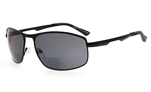Eyekepper Bifokal Sonnenbrille Bifokal Sun Leser Draussen Lesebrille (+2.50, Schwarz)