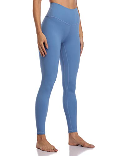 Colorfulkoala Women's Buttery Soft High Waisted Yoga Pants Full-Length Leggings (XS, Havelock Blue)