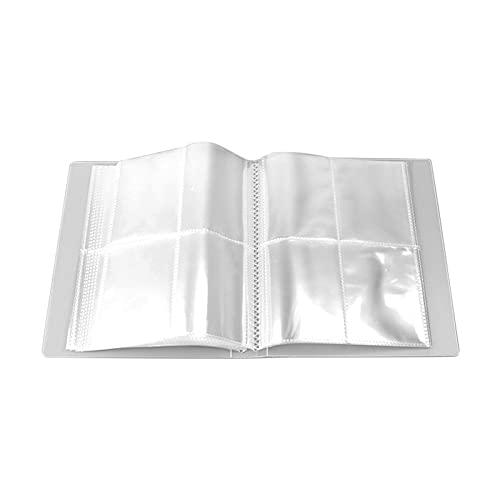 Libro transparente de almacenamiento de joyas, 160 rejillas anti-oxidación Bolsa organizadora de almacenamiento de joyas para anillos de pendiente