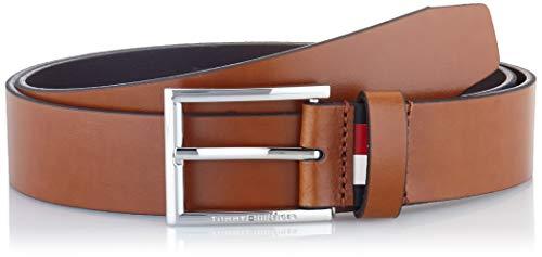 Tommy Hilfiger Herren FORMAL Belt 3.5 Gürtel, Braun (Cognac 278), 673 (Herstellergröße:85)