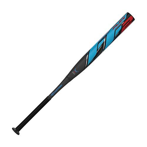 "Easton FIRE FLEX II USSSA Slowpitch Softball Bat | Loaded | 13.50"" Barrel | 34"" / 27 oz | 2019 | 2-Piece Composite | Fire Flex Technology | ConneXion+ | 1.20 BPF | SP19FF2L, Multicolor, Model: 8066126"