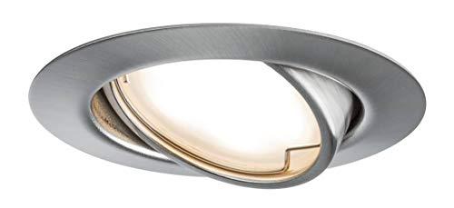 TIP LED Einbauleuchten-Set Coin 3x4,9W Eisen schwenkbar