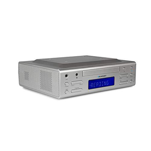 Blaupunkt Küchenradio KRC 30 SV, PLL-UKW-Radio, Aux-In, CD-Wiedergabe, Hintergrundbeleuchtetes LC-Display, 2 Kurzzeitwecker