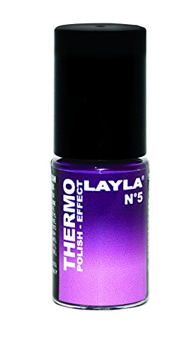 Layla Cosmetics Thermo Polish Effect Nagellack, 1er Pack