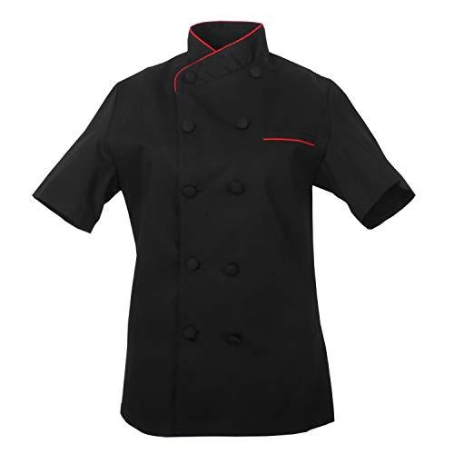 MISEMIYA Chaquetas Chef Uniforme Cocinera Mujer