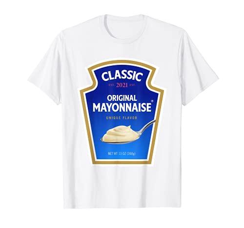 Disfraz de mayonesa para Halloween, grupo de mayonesa Camiseta