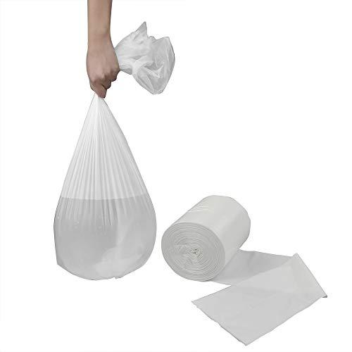 Sandmovie 20 l Weiß Müllbeutel Mülltüten Abfallsack, klein, 105 Stück