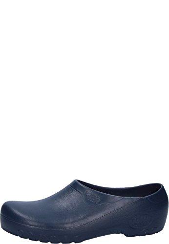 Jolly Fashion by Alsa .der Blaue PU Schuh mit auswechselbarem Korkfußbett, 39