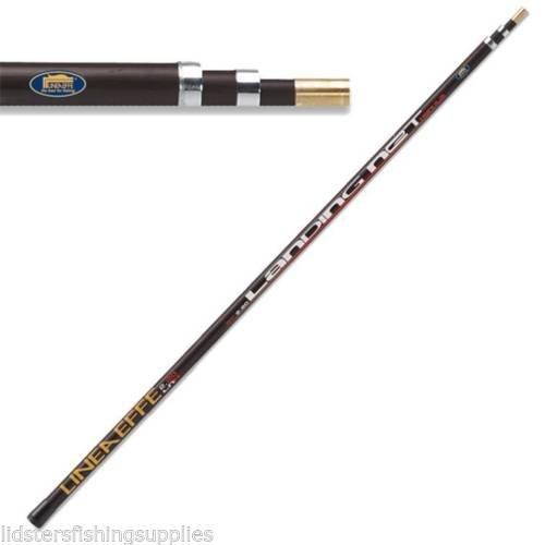 Lineaffe Landing Net Handle 3m Telescopic 3 Section Carp Match Pole Fishing