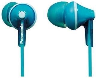 PANASONIC RPHJE123P1Z Stereo Earphones (Turquoise Blue)