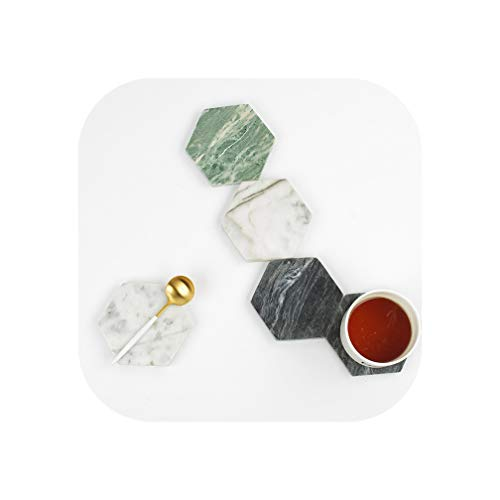 1 Piece Nordic Natural Marble Storage Tray Chic Cup Mat Fruit Cake Dessert Plate Ring Earring Jewelry Display Tray Desk Coaster,Random Color