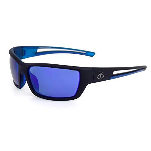 Filthy Anglers Balsam Men's Sports Fishing Sunglasses, Black Wraparound Frame, Polarized Lenses, 100% UV Protection