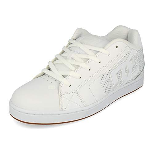 DC Shoes™ Net-Nabukleder Shoes for Men Lederobermaterial. Leichte Mesh mit Schaumstoff gepolsterte Zunge und Einstieg für mehr Komfort. Belüftungslöcher für mehr Atmungsaktivität.Cupsole Konstruktion