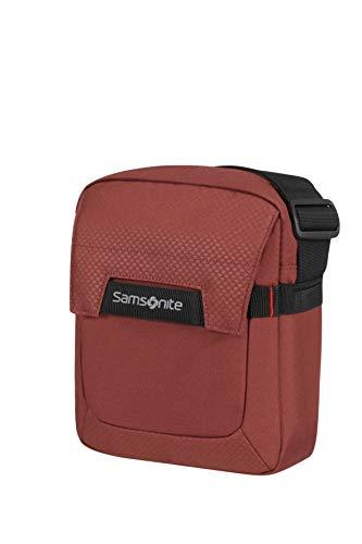 Samsonite Sonora - 7.9 Pulgadas Bolsa Bandolera para Tablet, 24 cm, 4.5 L, Rojo (Barn Red)