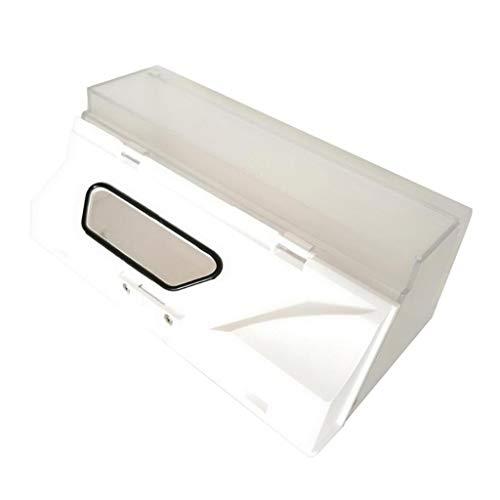 H HILABEE Caja de Basura con Aspiradora para Accesorios de Laboratorio