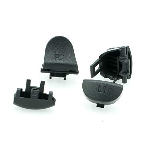 PartEGG L1 R1 L2 R2 Trigger Button Replacement for PS4 Pro Dualshock 4 Controller JDS-040 JDM-040