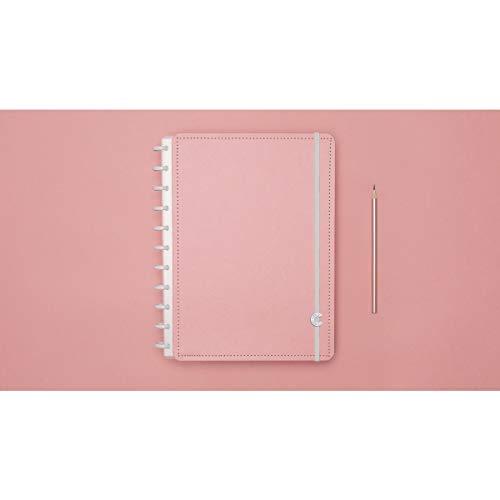 Caderno Inteligente, Grande, Rosê Pastel, 215x280mm, 80 Folhas