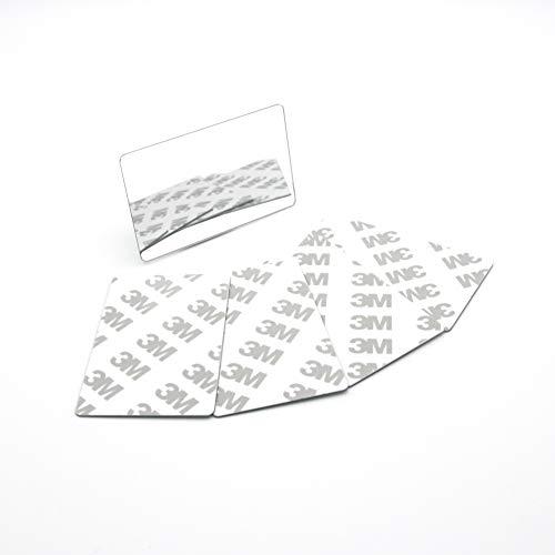 OPHRY Tasche Spiegel unzerbrechlich Kreditkarte Größe Mini Portable Spiegel E-Set 3M