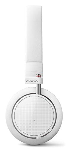 ONKYO密閉型ワイヤレスヘッドホンBluetooth対応/NFC対応/リモコン・マイク付ホワイトH500BTW