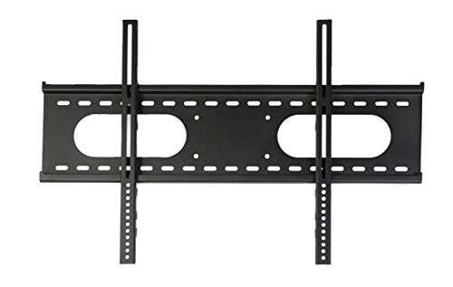 THE MOUNT STORE Low Profile Flat TV Wall Mount for TCL Model 55P605 55' Class (54.6' Diag.) LED 2160p Smart 4K Ultra HD TV with High Dynamic Range Roku TV VESA 200x200mm