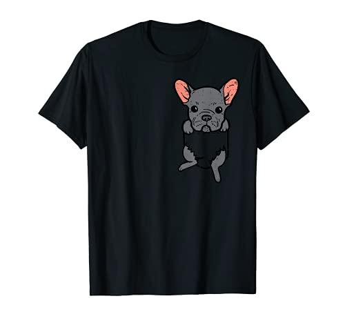 Pocket French Bulldog Feet Frenchie Pet Dog Lover Owner Gift T-Shirt