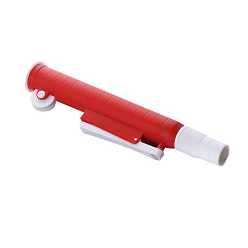 LIANA IRWIN - Bomba de pipeta manual para aspiradora, 2 ml, 10 ml, 25 ml, en lugar de cristal de succión azul, 25ml, 1