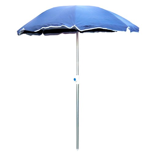 Ombrellone spiaggia mare H160xD130cm con palo alluminio...
