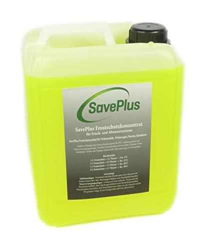 Firma Saveplus Frostschutz Frostschutzmittel für Toilettensysteme Bungalow Gartenhaus Laube 5L