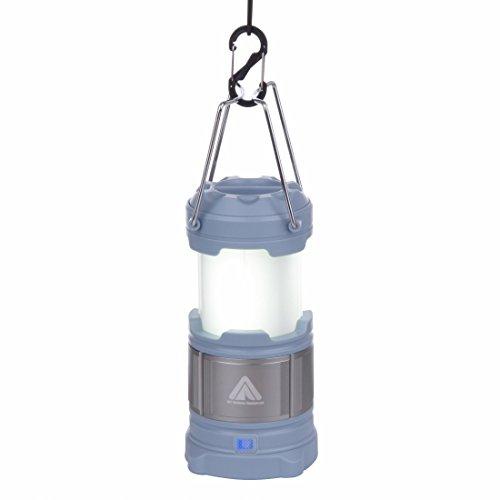 10T CPL 185 - campinglamp 185 lumen | incl. 4800mAH powerbank | 15 LED's | 360 g | lantaarn | blauw