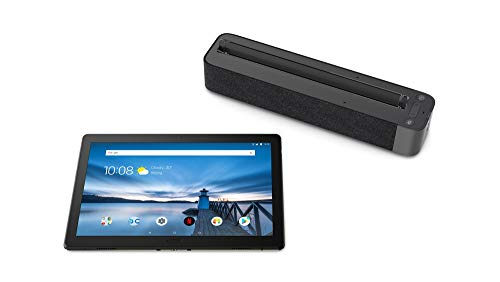 "Lenovo Smart TabM10 - Tablet 10.1"" FullHD con Alexa integrada (Snapdragon 450, RAM 2GB, Memoria Interna 16GB, Android 8.0) Color Negro + Altavoz incluido"