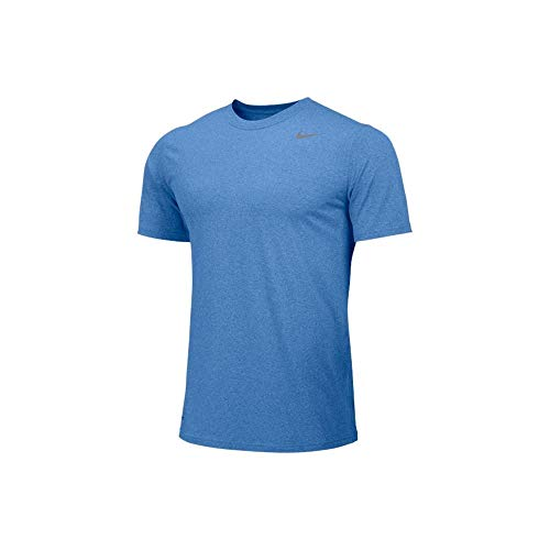 Nike Mens Athletic Active Dri-Fit Tee Shirt X-Large Blue
