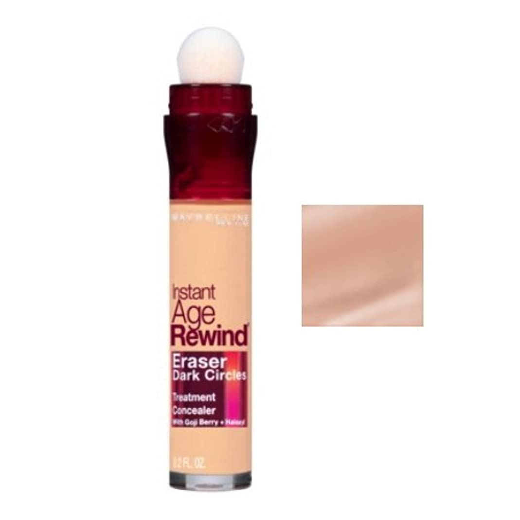 オーバーフロー真鍮南(3 Pack) MAYBELLINE Instant Age Rewind Eraser Dark Circles + Treatment - Honey (並行輸入品)